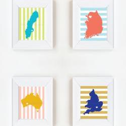 5x7 Country Prints